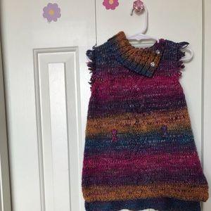 Multi-Colored Sweater Vest